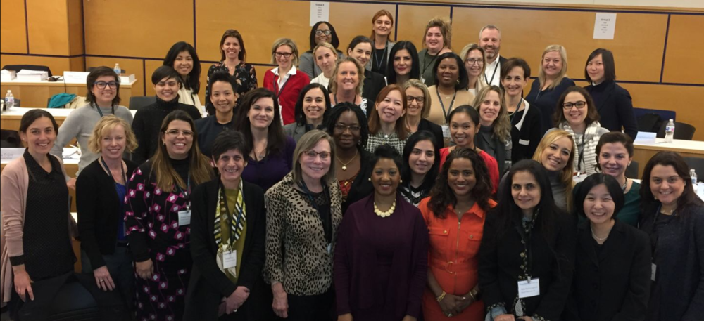 A Network of Professionals: Women in Leadership, Columbia University, November, 2017.