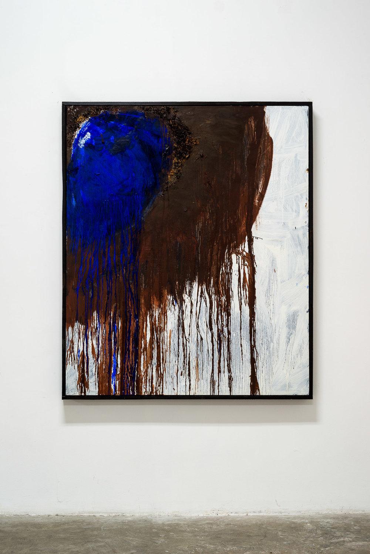 Blue Vessel Painting, 2016