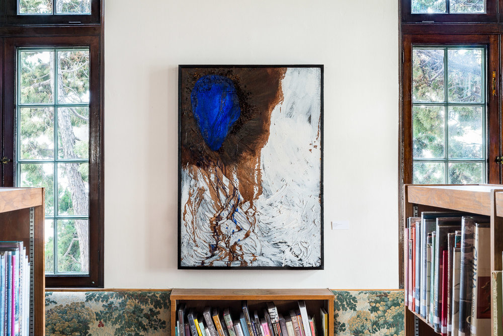 Blue Vessel Painting 1, 2016