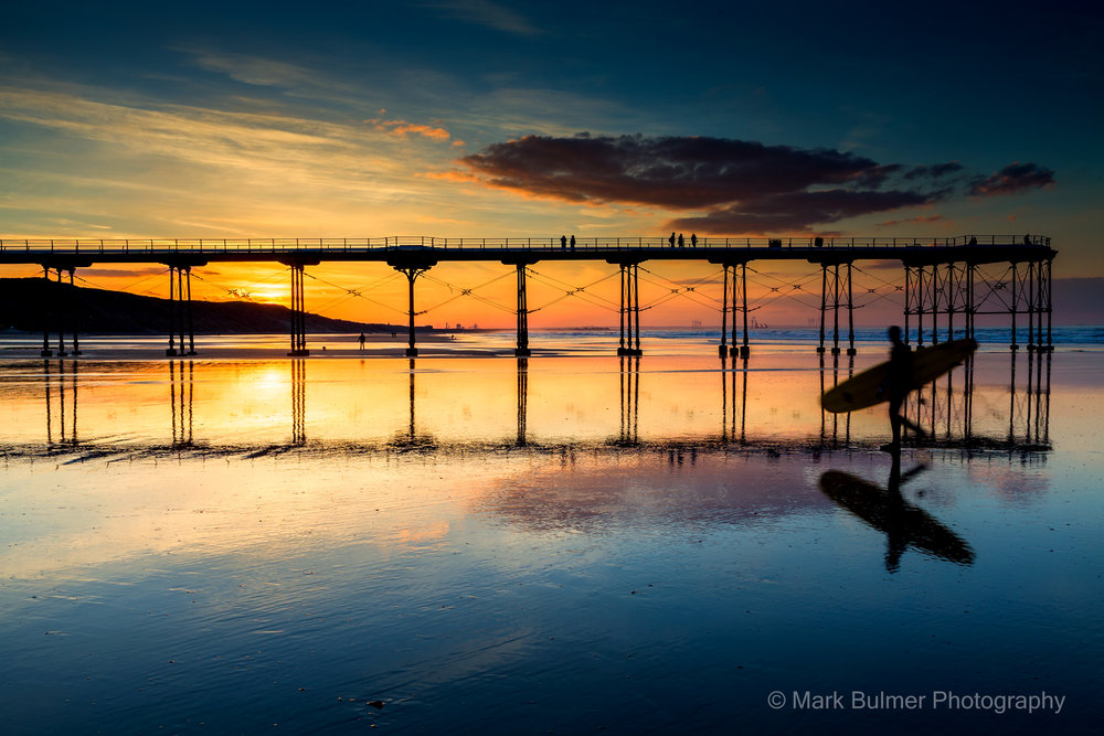 Sunset Surfer Saltburn