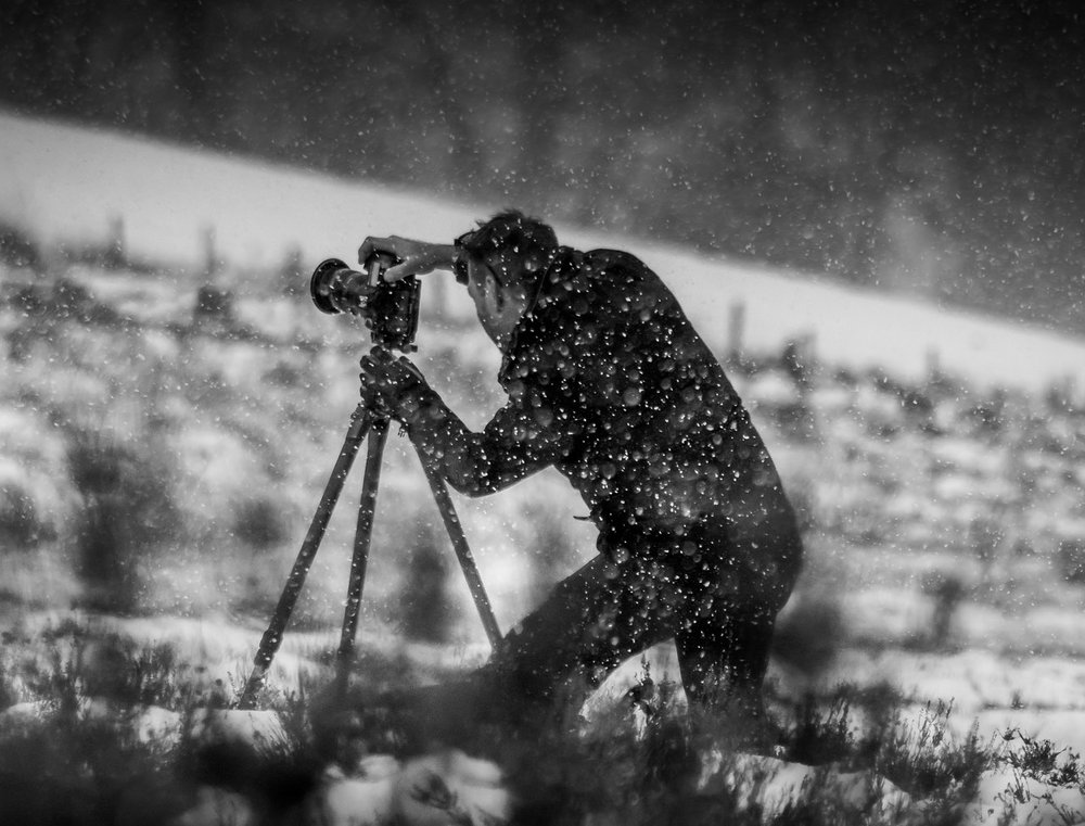 A Photographer At Work