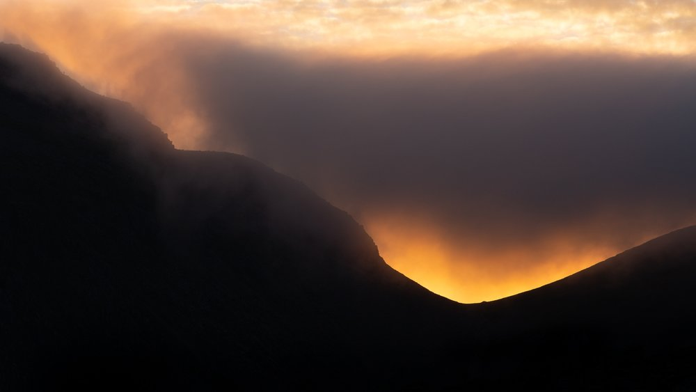great gable sunset