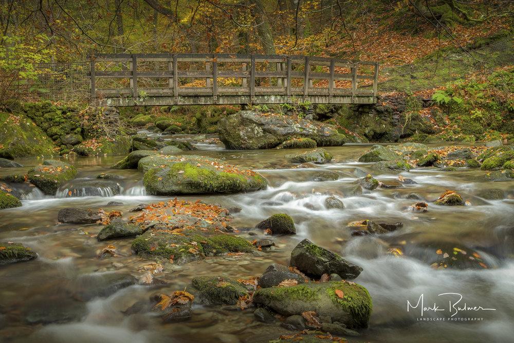 Stock Ghyll Foot Bridge