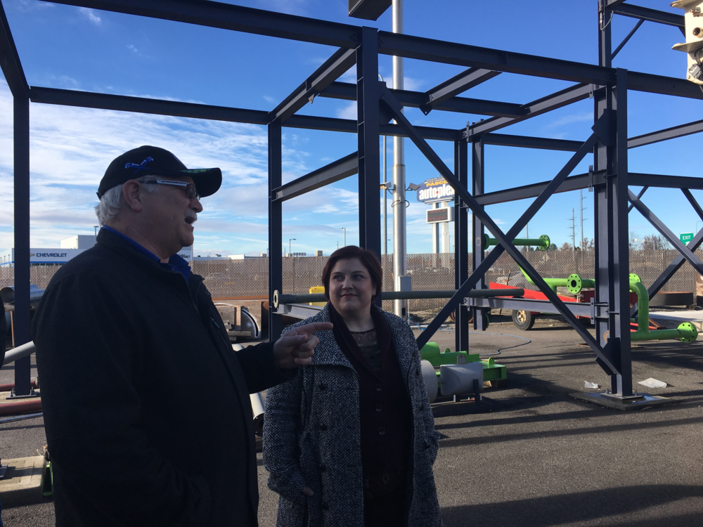 Touring the under-construction Plumbers and Steamfitters site in Pasco