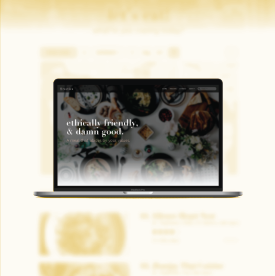 WEB DESIGN - Rustica