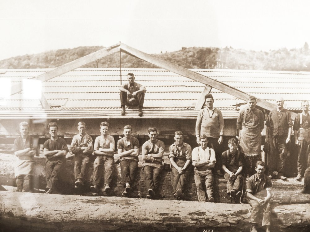 The Company Beginnings - Our Company beginnings and love of sustainable NZ Timber originated with the family sawmill in Raetihi in the 1920s.