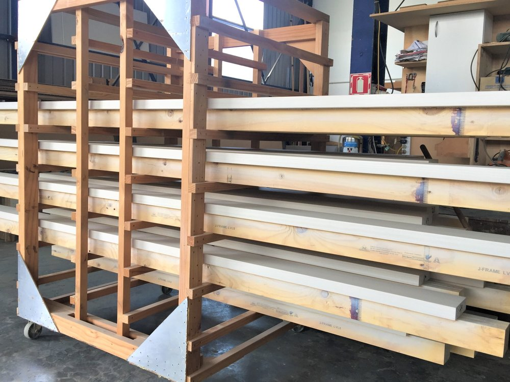 Glenroy posts ready for delivery to site