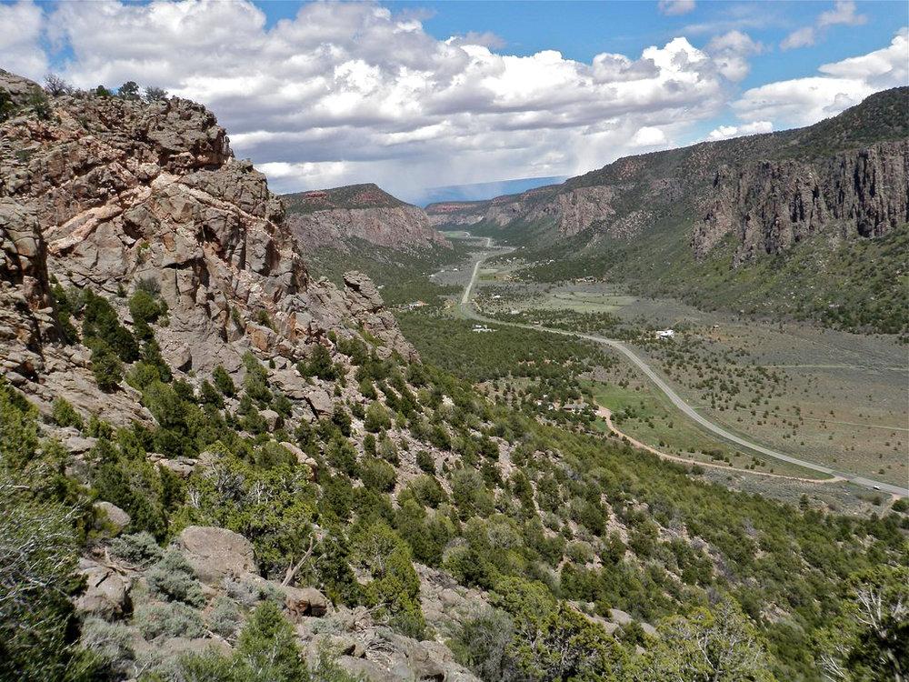 Unaweep Canyon, Colorado.