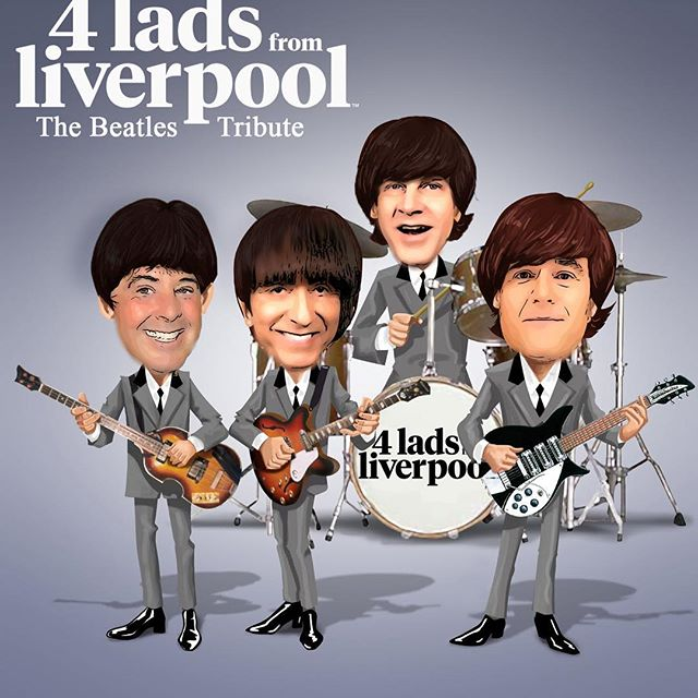 """4 Lads From Liverpool"" will be at Grazies Italian Restaurant and Sports Bar located at 1615 N Mountain Ave in Upland on Friday June 22nd call 909-989-2924 for reservations #beatlestributeband #upland #coolexperience #beatles #beatlesfan #beatleslove"
