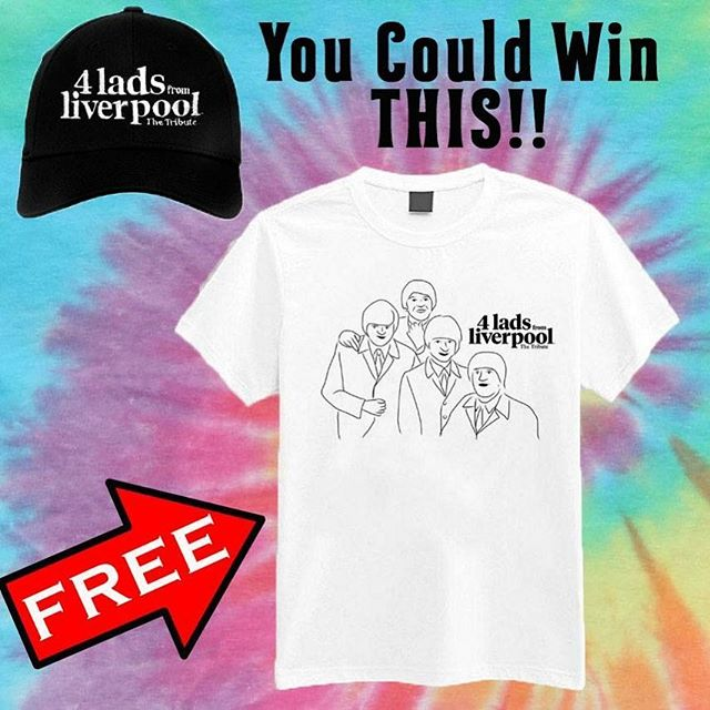 CHECK THIS OUT!!! ✌️✌️✌️✌️✌️✌️ This Coming Saturday- Oct 20th at Alves Showroom in San Pedro You could get your hands on a free 4 Lads From Liverpool T-Shirt and Hat !  Click On The Link In Our Bio To Get Your Tickets Today  #beatles #beatlestributeband #liveband #johnlennon #paulmccartney #georgeharrison #ringostarr #free