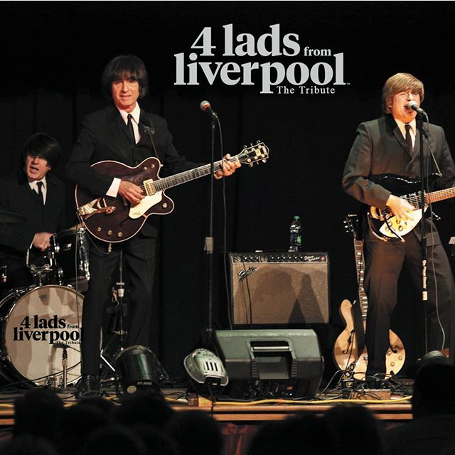 """New Years Eve with """"4 Lads From Liverpool"""" at Pacino's in Mesa, Arizona a 5 course dinner and Beatle show only $99 per person, includes a free champagne and party favors. Entrees are prime rib or salmon, come join us #mesaarizona #newyearseve #lovemusic #livemusic #beatles #beatletributeband #phoenixarizona"""