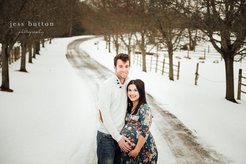 Niagara Maternity   Awaiting a Baby Girl   Fonthill Newborn Photographer