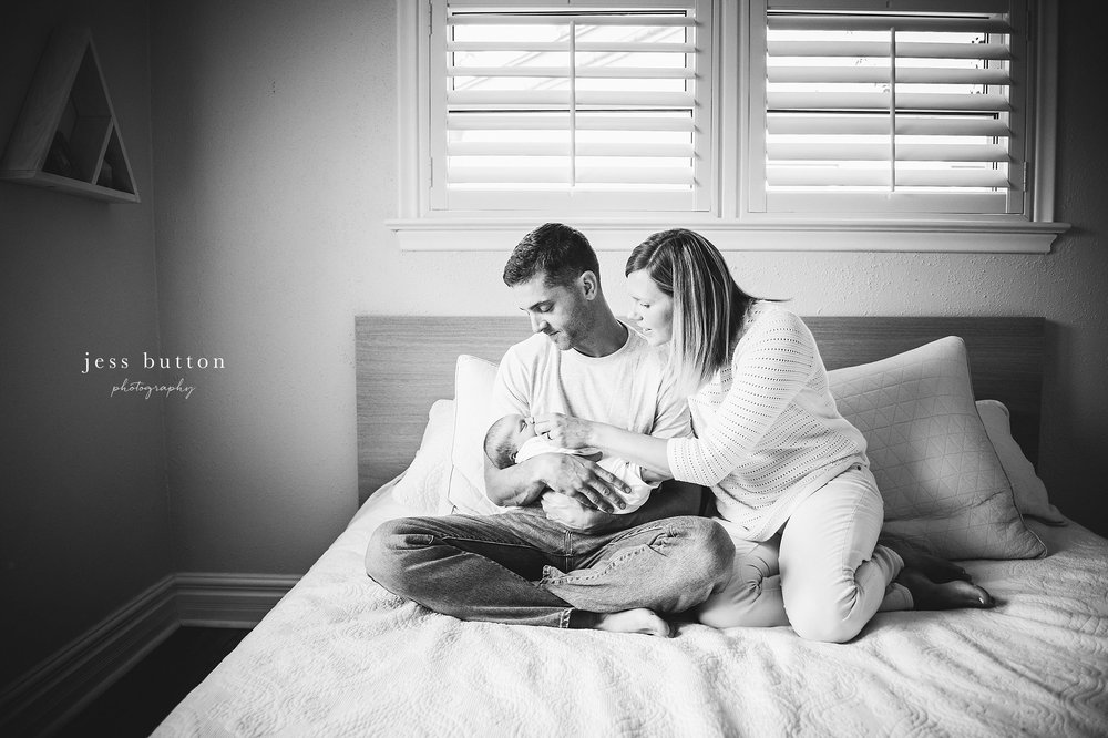 and then there were four | a baby brother at home | Niagara Falls Newborn Photographer