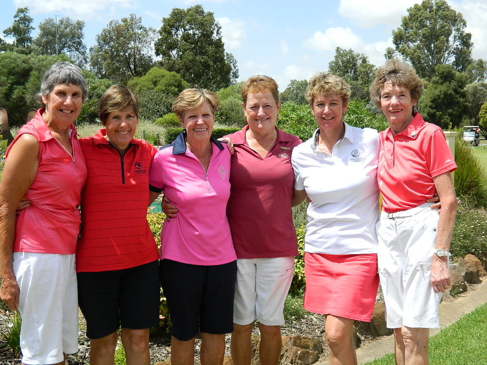 Ladies Golfers