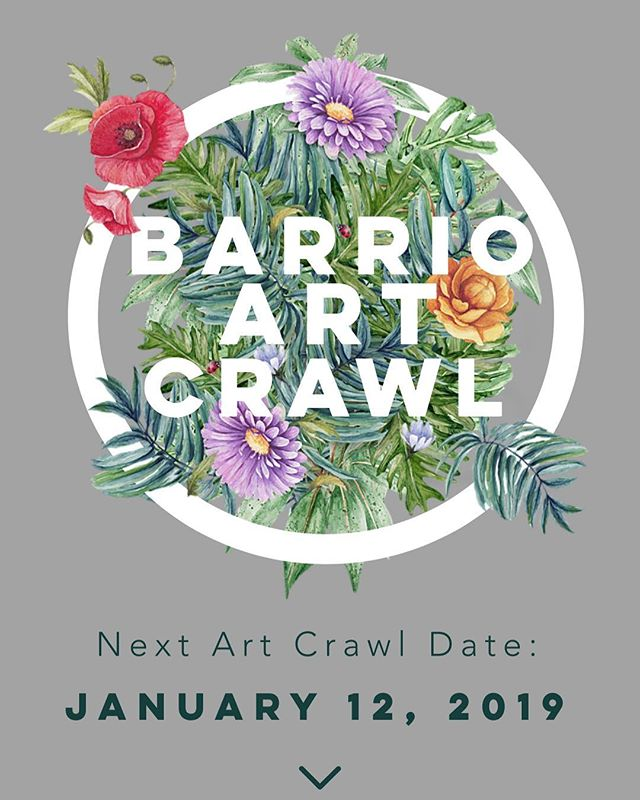 Check out our website and sign up to our email list if you haven't already! Link in bio. 🗓 Next Crawl date: January 12, 2019 ••• #barriologan #loganheights #sd #92113 #619 #art #artcommunity #artsdistrict #artshow #barriologanculturaldistrict #sdartist #barrioartcrawl #shopsmall #supportsmallbusiness #sandiego