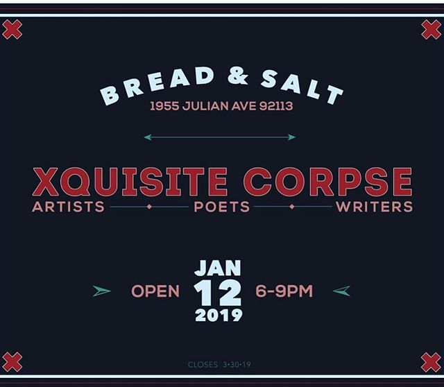 Also open this Saturday will be @breadandsalt_sandiego . Bring your whole family!! 👨‍👩‍👧‍👧👩‍👧‍👦👨‍👧‍👦🐕🐈 --- #barriologan #loganheights #619 #art #artcommunity #artsdistrict #artshow #barriologanculturaldistrict #sdartist #barrioartcrawl #sandiego