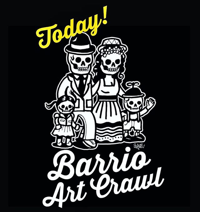 Get your jackets and umbrellas ready! The 1st Barrio Art Crawl of 2019 is happening today. For a complete list of participating spaces please visit our Facebook event page or website: www.barrioartcrawl.com * Be sure to pick up our Map in @laneta92113 Magazine! ----- #barriologan #loganheights #619 #art #artcommunity #artsdistrict #artshow #barriologanculturaldistrict #sdartist #barrioartcrawl #sandiego
