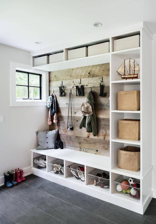 Garage with lots of pocket spaces for storage