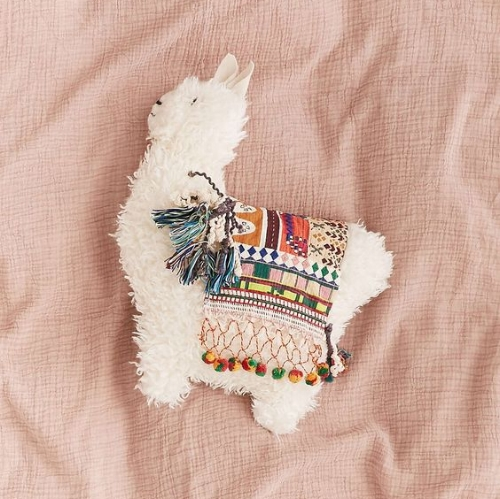 Llama Cushion (Urban Outfitters)