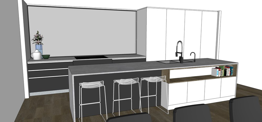 St Heliers kitchen design concept