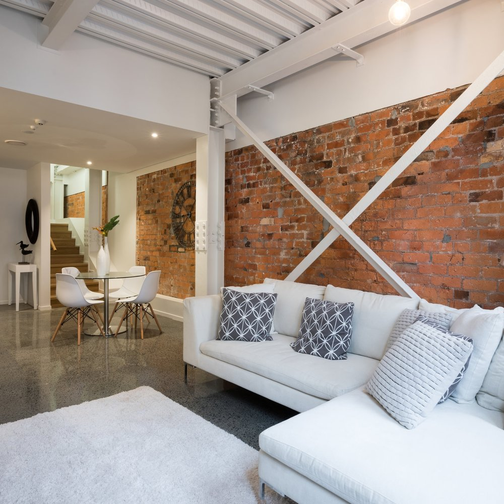 INDUSTRIAL LOFT - A Industrial style apartment overhaul...
