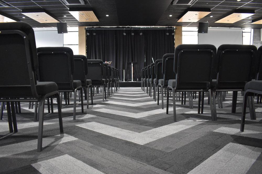 Faith City Church, Auckland NZ - Central Spine - Pocketspace Commercial Interior Design