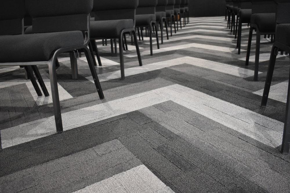Central Spine Carpet Detail