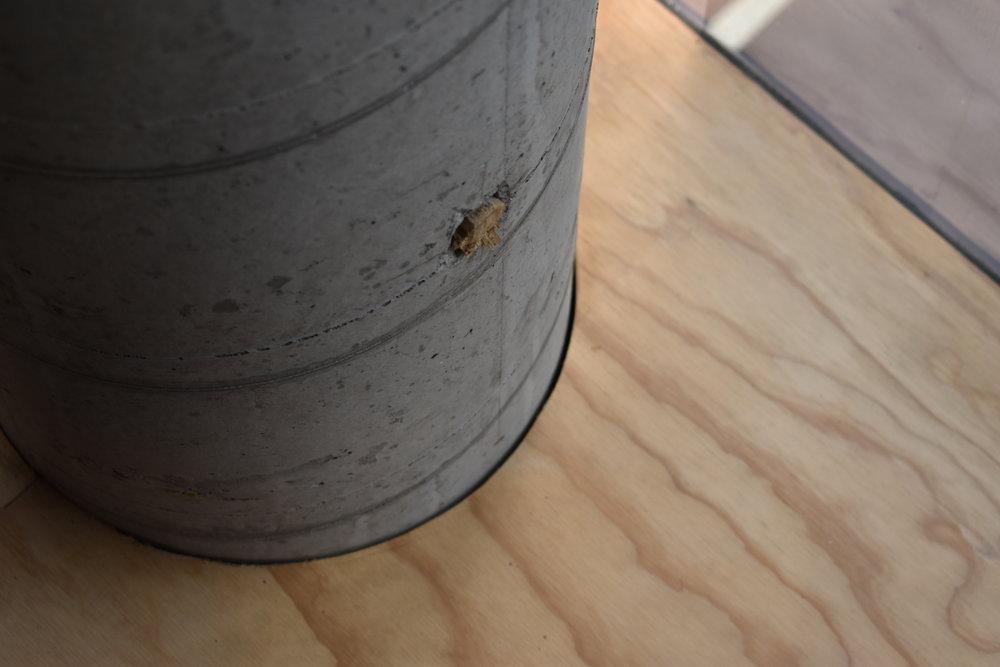 Bare Concrete Column Detail