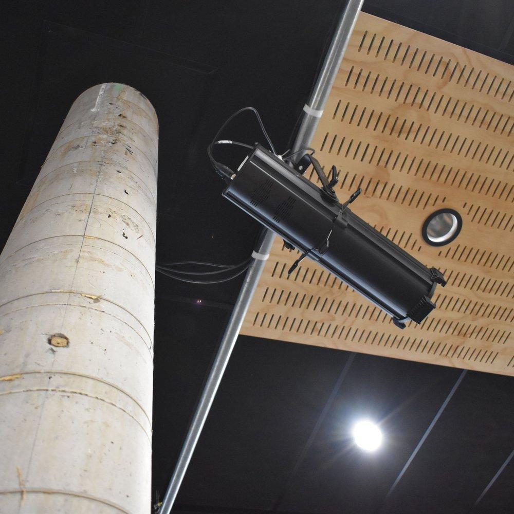 Custom Ply Ceiling Panels