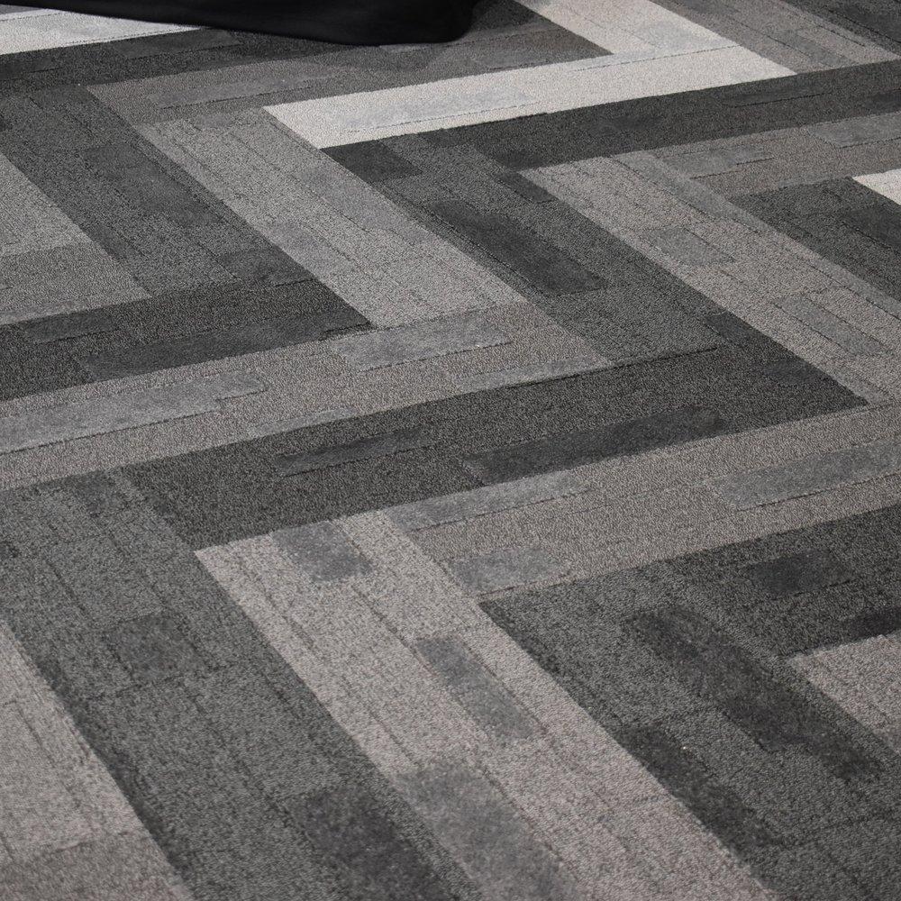 Herring Bone Carpet Tiles