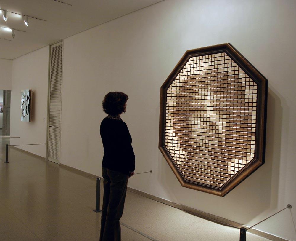 """""""Wooden Mirror"""" 1999"""