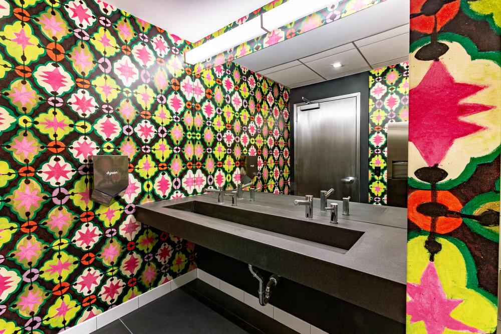 1410 Broadway Bathroom Wall