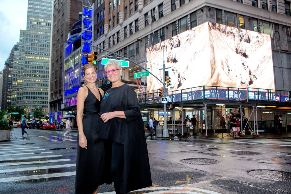 """Copy of """"Mount Sodom"""" Video Billboard in Times Square"""