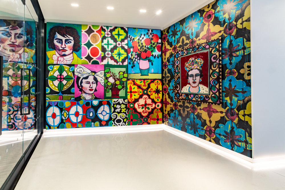 "Image: "" My Magic Wall"" installation by Basmat Levin © ZAZ10TS photo by Zdravko Cota"