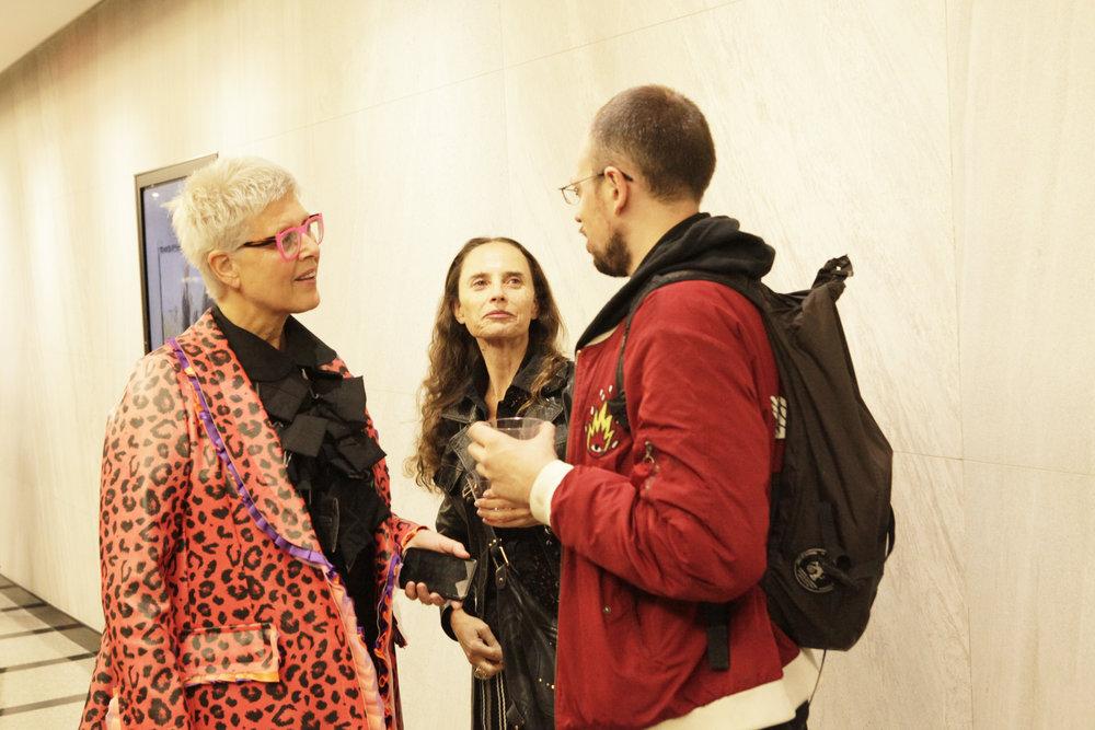 Tzili and Tamar Dresdner, Curator
