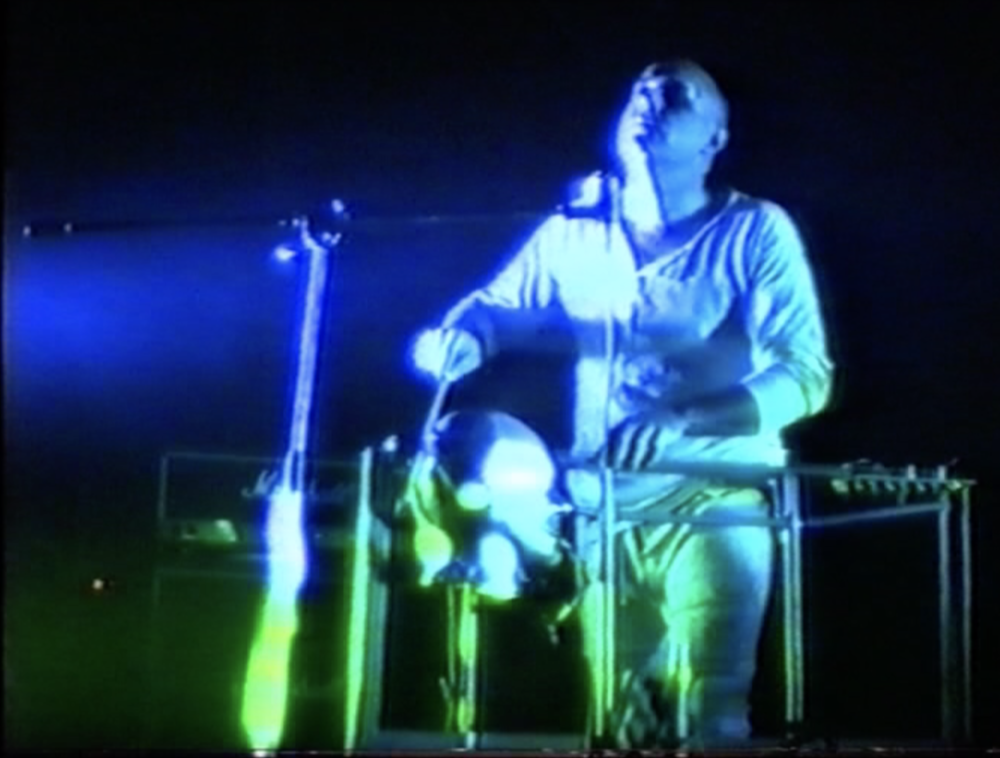 Image from  0.5 Media, Performance video, 1987