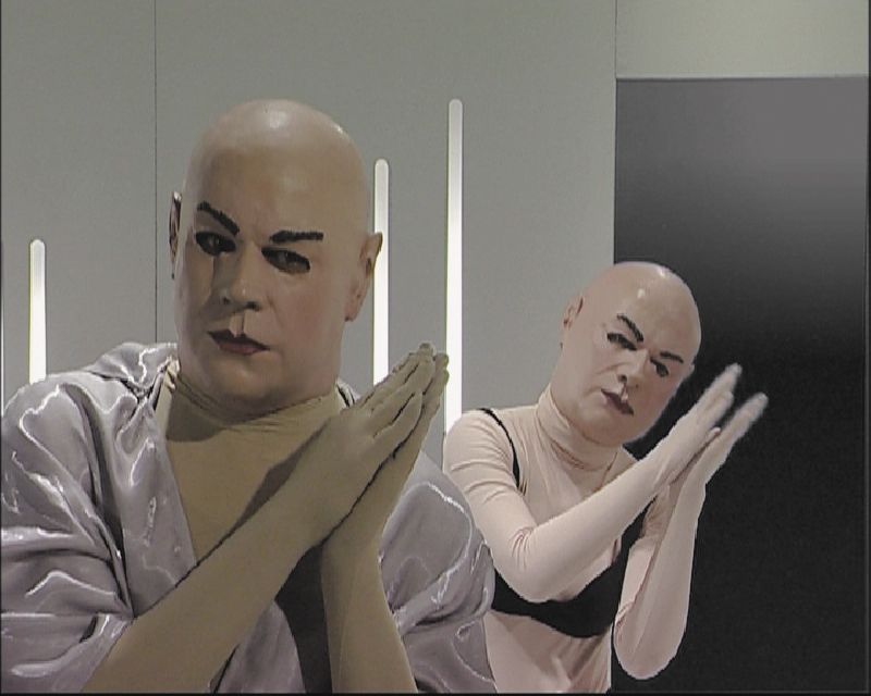 Image from Home, Performance Video. 2003