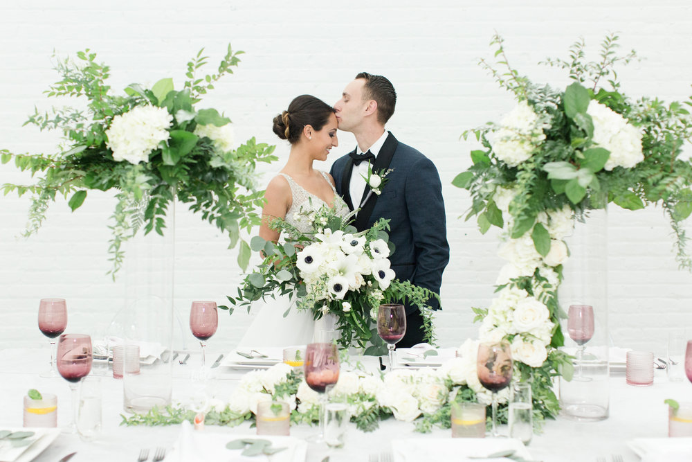 Cleveland Wedding, Classic Modern Shoot  Featured, and photographed by  The Cannon's Photography