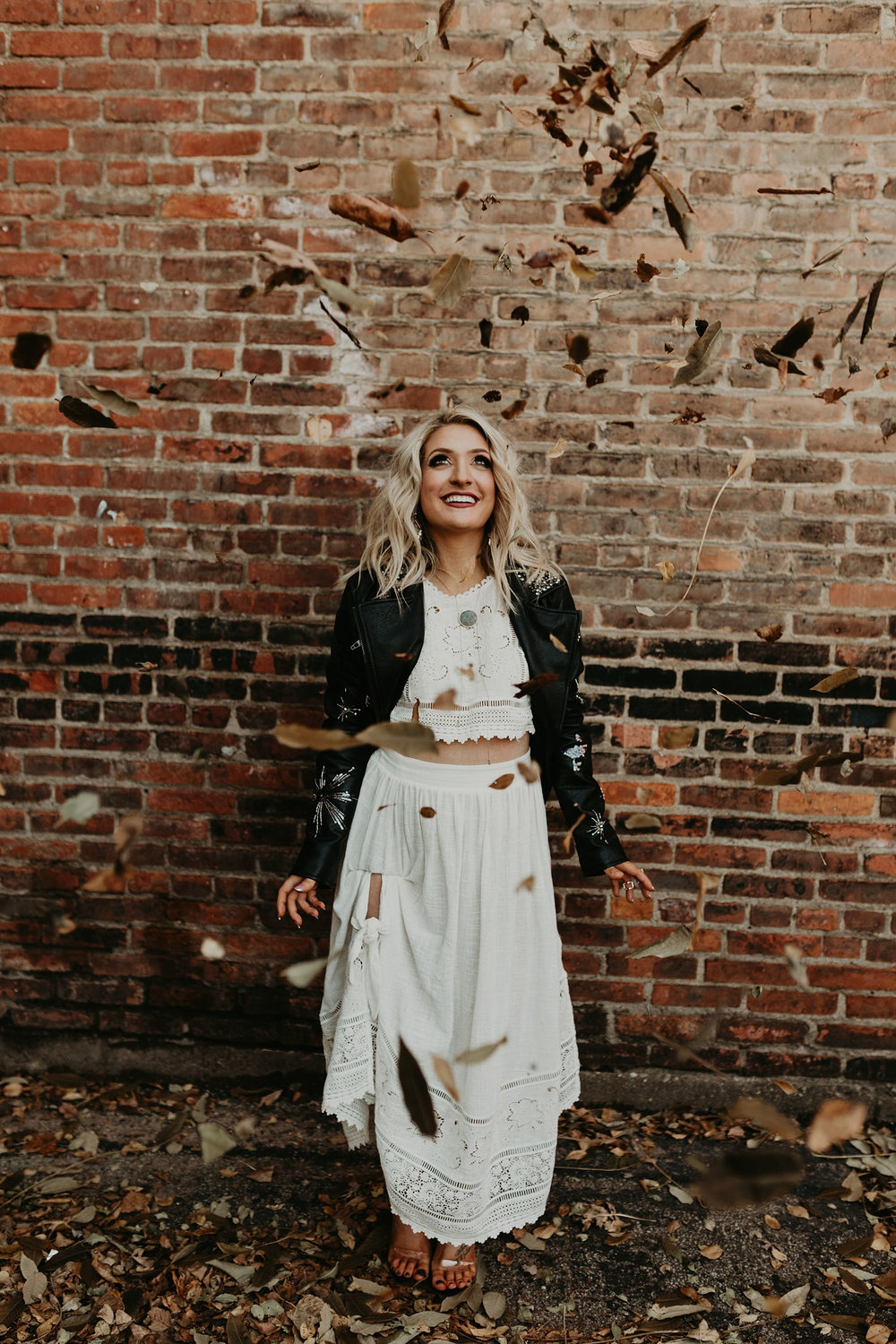 Moody Moto Cleveland Elopement, Featured on  Whimsically Wed    Photography by  Mann and Wife Photography