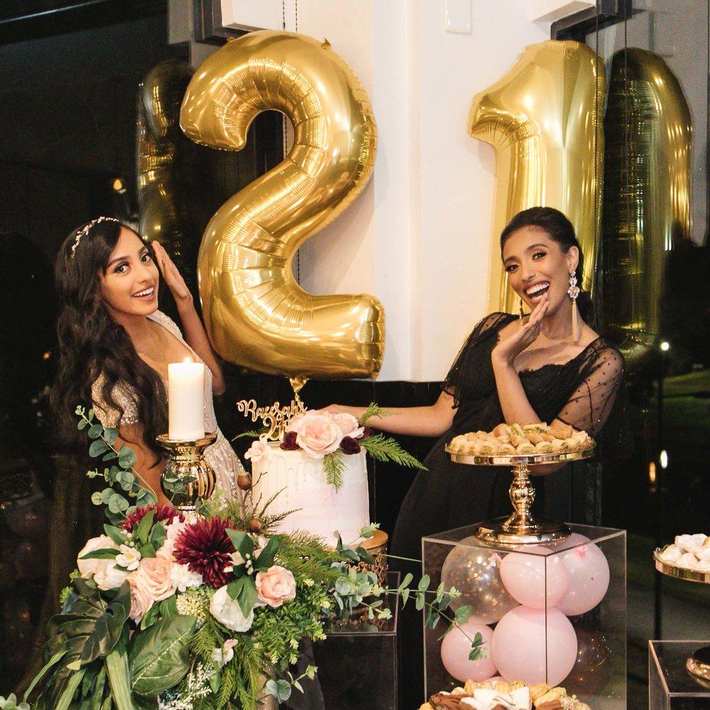 Raeesah's 21st Birthdaycoming soon… -