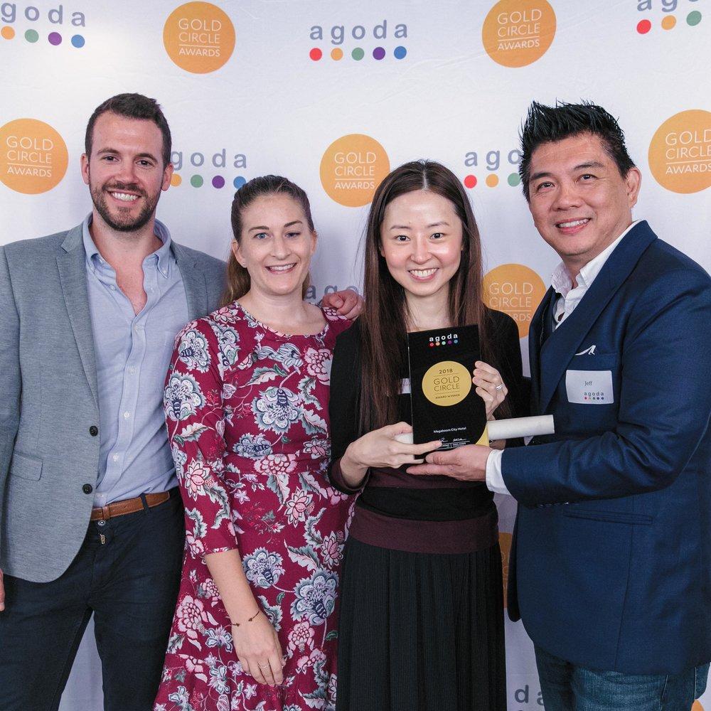 Agoda Gold Circle Awards -