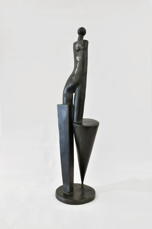 Paul Dibble - The Long View Model, 2016 Ed.Ap 5Cast Patinated Bronze510x135x135mm$12,000