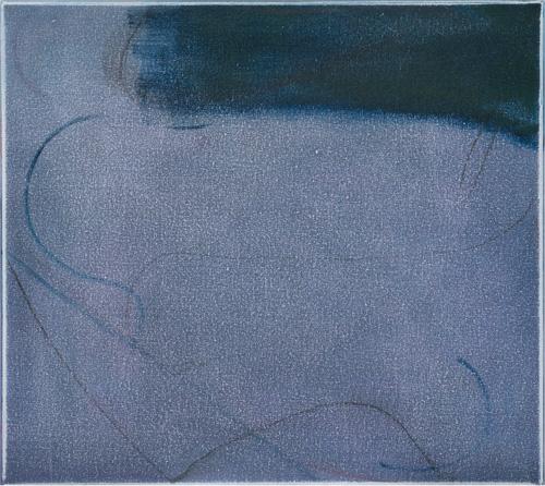 Anoushka Akel Bending blue, 2015