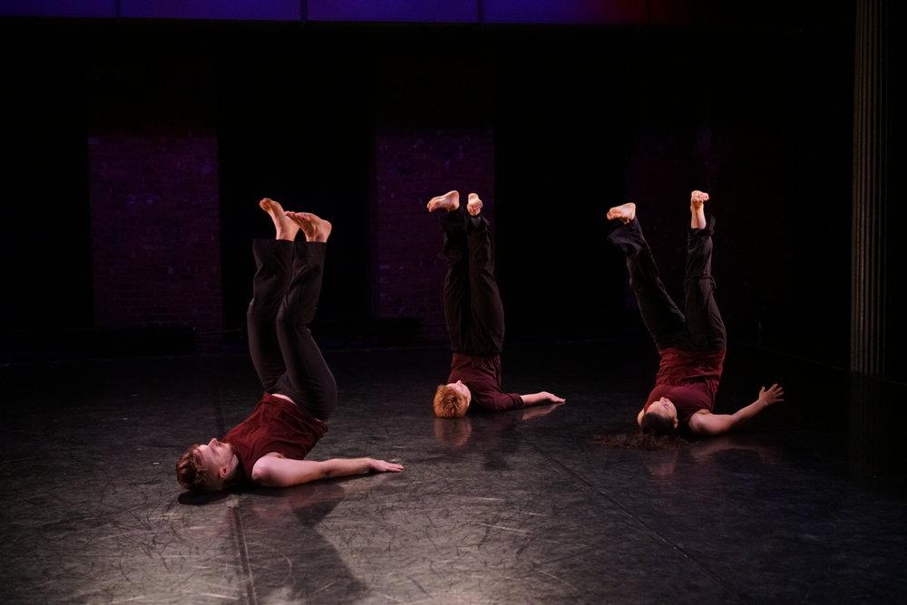 Devices 5 - Gina Gibney Theater  Nolan Hoppe-Leonard, Mary Markovitz, Satsu Holmes