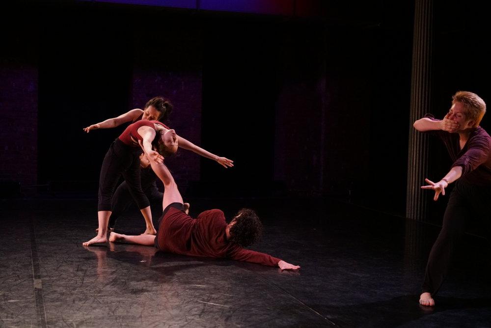 Devices 5 - Gina Gibney Theater  Chris Tabassi, Hiroko Takayasu, Mary Markovitz