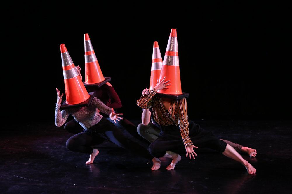 Split @ The Peggy Theater (2017)  Gabriella D'Amato, Neil Randolph, Hiroko Takayasu, Josh Pacheco