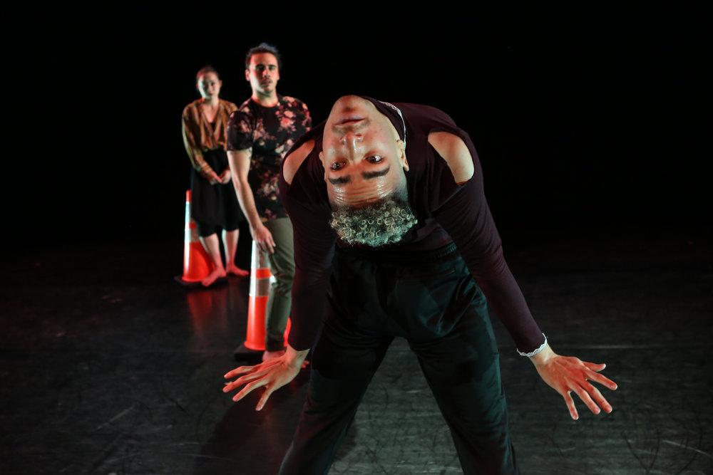 Split @ The Peggy Theater   Neil Randolph, Hiroko Takayasu, Josh Pacheco