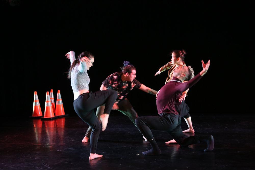 Split @ The Peggy Theater  Gabriella D'Amato, Neil Randolph, Hiroko Takayasu, Josh Pacheco