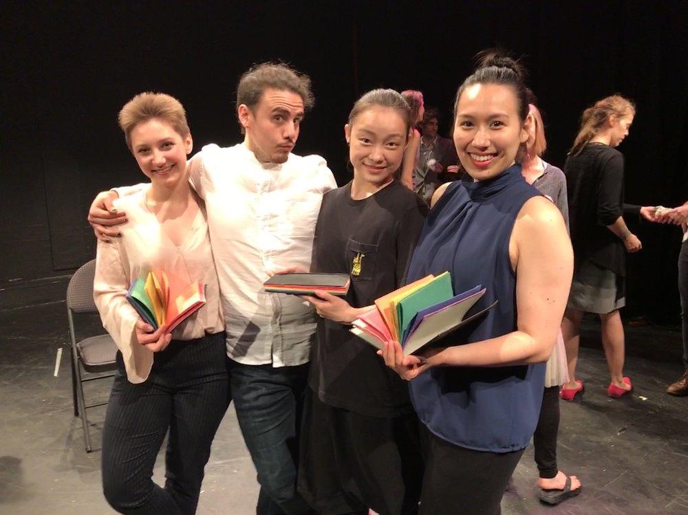 Mary Markovitz, Josh Pacheco, Hiroko Takayasu, Satsu Holmes