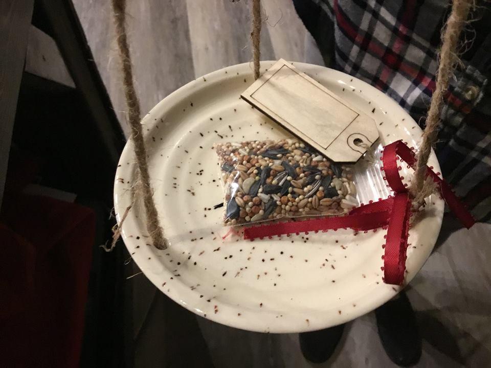 Bird feeder from Anne Pedersen!